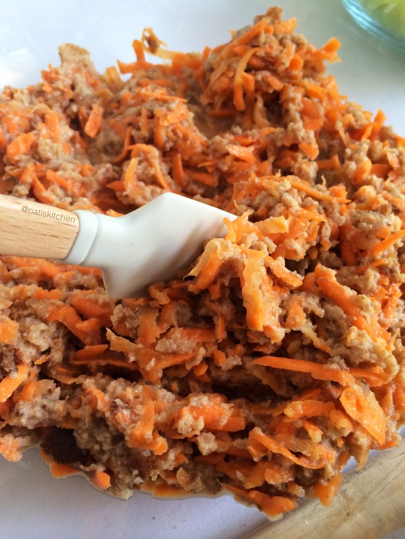 Savory Carrot & Celery Cake 2