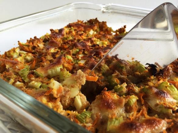 Savory Carrot & Celery Cake 4