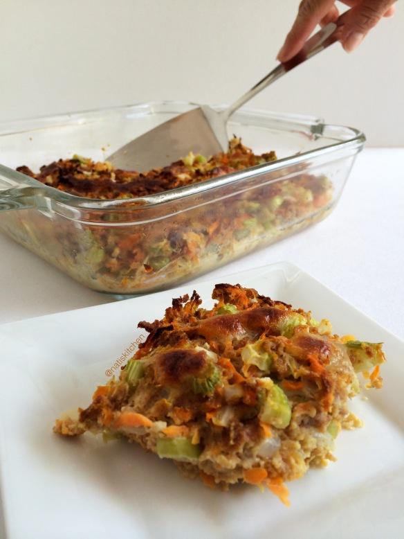 Savory Carrot & Celery Cake 5